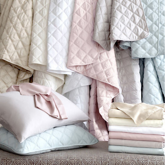 ... Pine Cone Hill Quilted Silken Solid Coverlets ...