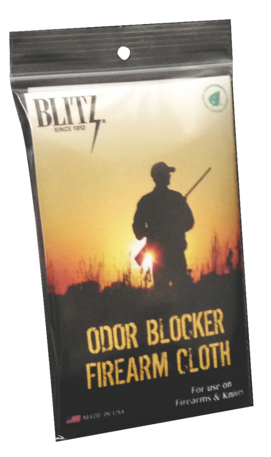 Odor Blocking Firearm Cloth
