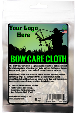 Private Label Bow Care Cloth