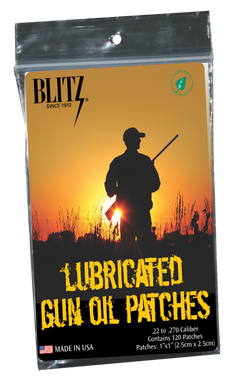 Lubricated Gun Oil Patches