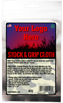 Private Label Stock & Grip Cloth