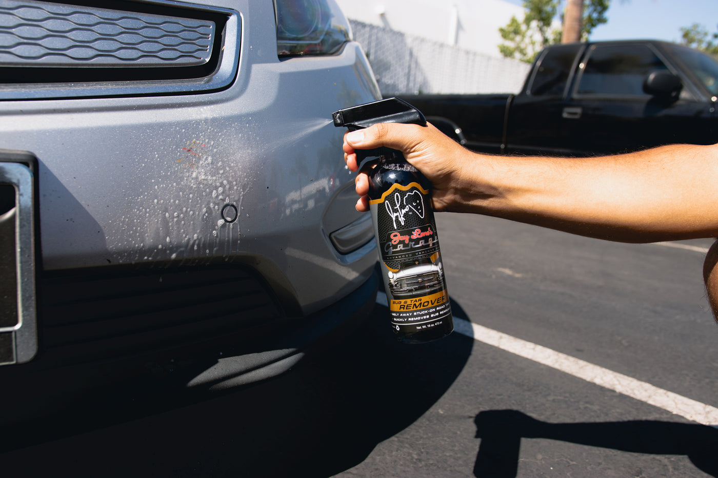 how to: the easiest way to remove bug splatter - leno's garage
