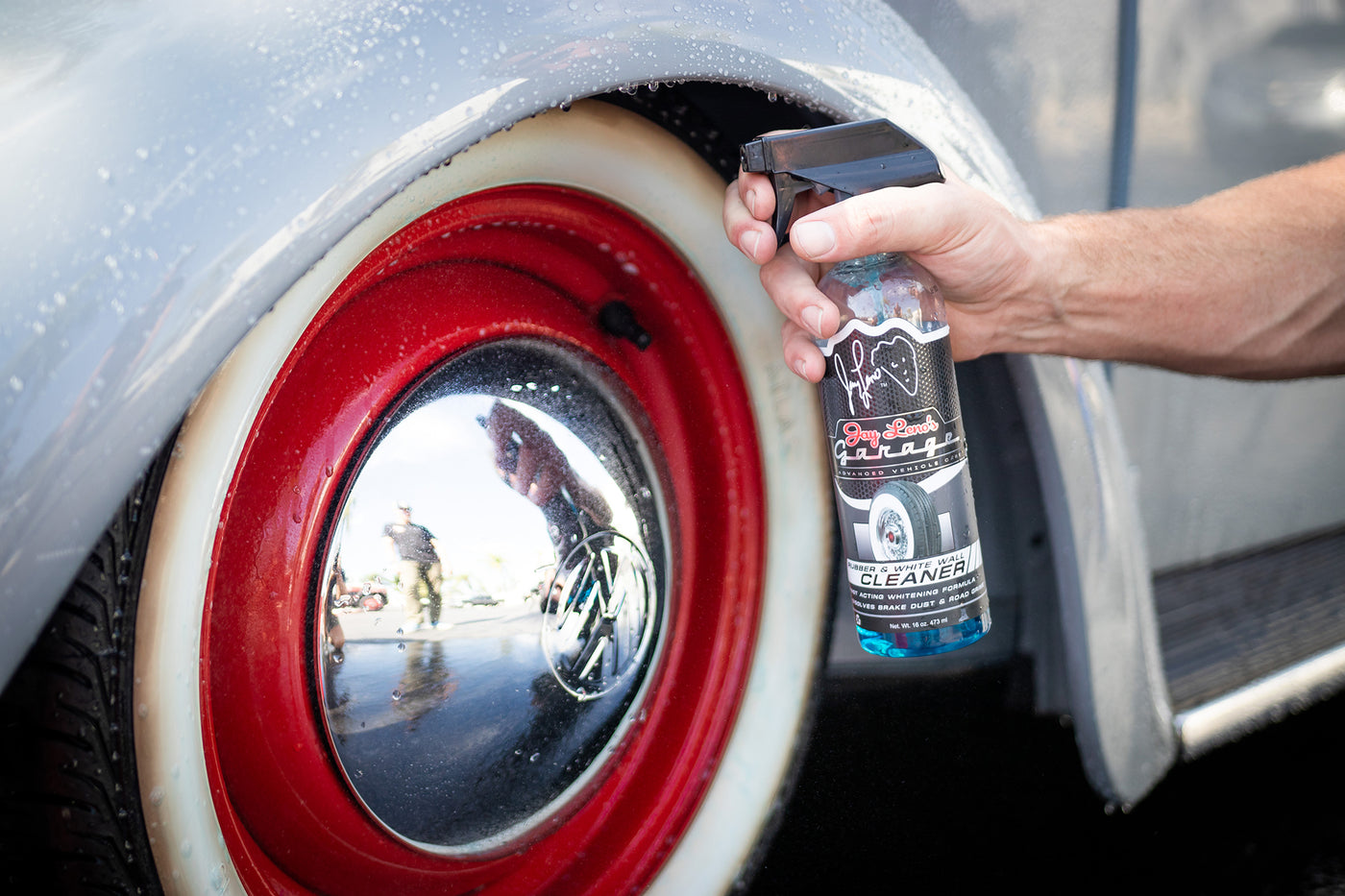 How to keep whitewall tires clean leno 39 s garage - How to keep your car exterior clean ...