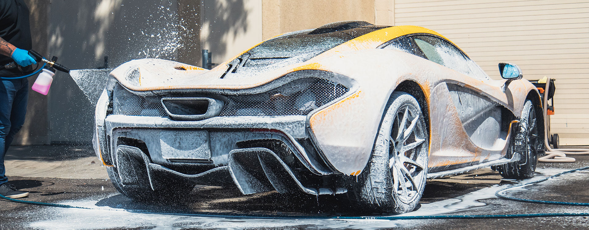 Wash & Wax Car Wash Shampoo from Jay Leno's Garage | Foam McLaren P1