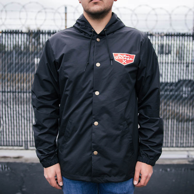 JLG Badge 'Em Snap Jacket (Black)