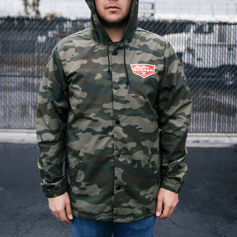 JLG Badge 'Em Snap Jacket (Camo)