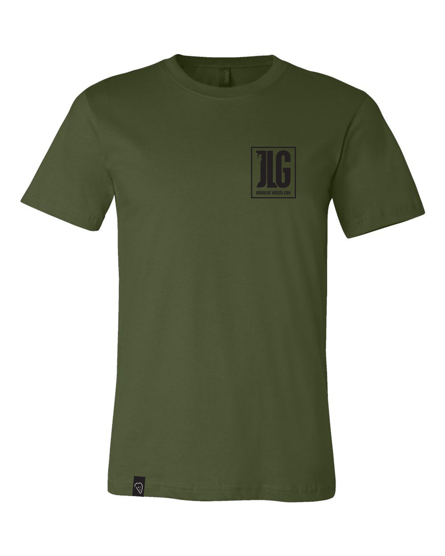 JLG Boxed In Tee (Military Green)