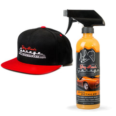 Quick Detailer and Snap Back Hat Combo