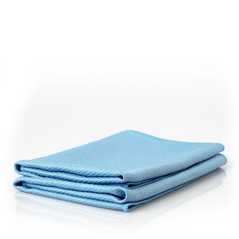 Diamond Weave Glass Towel (2-Pack)