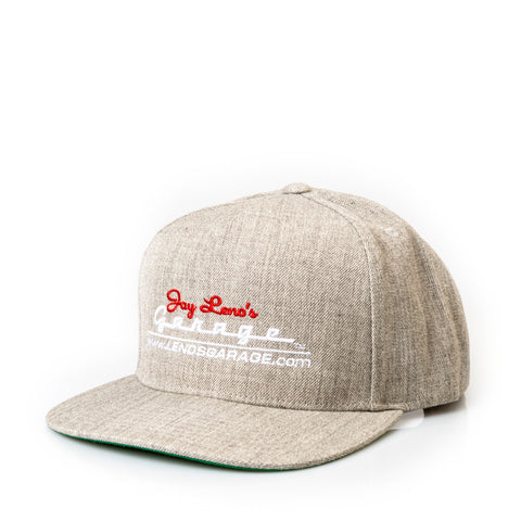 Jay Leno's Garage Snapback Hat (Grey)