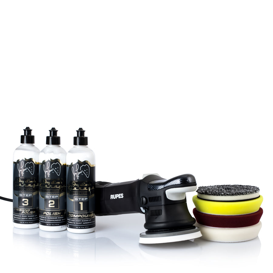"Rupes 5"" Complete Polishing Kit"