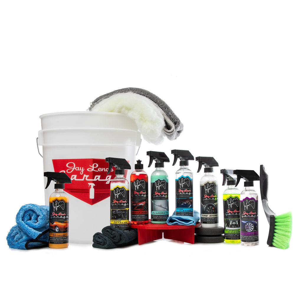 Jay Leno's Garage Essential Detail Kit