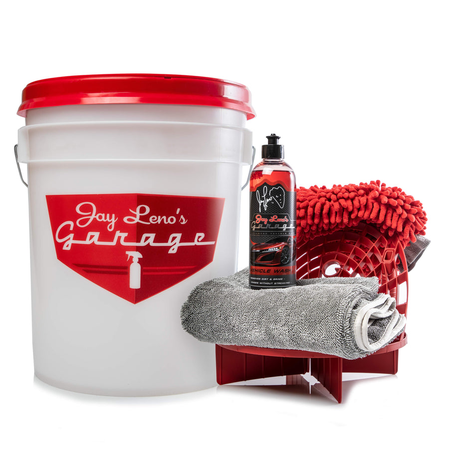 Jay Leno's Single Bucket Complete Wash Kit