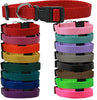 Puppy Dog Dreams Nylon Collars Plain