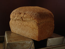 100% Stone Milled Whole Wheat, sliced. (Local pick-up only)
