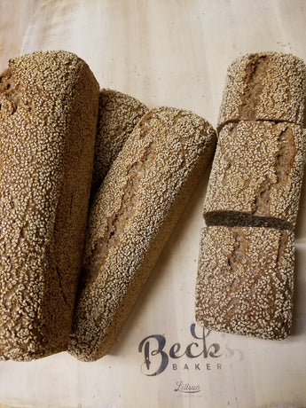*100% Whole Grain Sesame Spelt Sourdough **Local pick-up only**