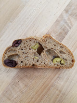 New Bread!!! Whole Wheat Olive!!!! (Curbside pick-up only)