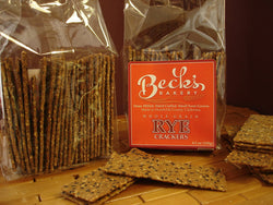 100% Whole Rye Crackers - Stone Ground  (Curbside Pick-up only)