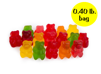 Gummy Bears - 0.40 lb. bag