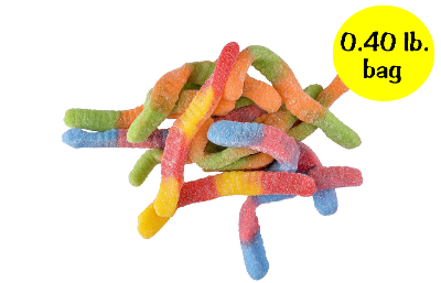 Sour Brite Crawlers - 0.40 lb. bag