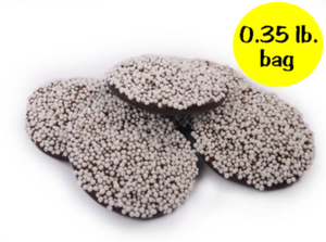 Dark Chocolate Nonpareils - 0.35 lb. bag
