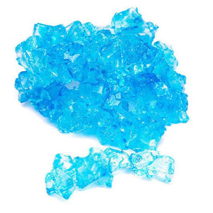 Blue Raspberry Rock Candy Strings - 0.35 LB. BAG