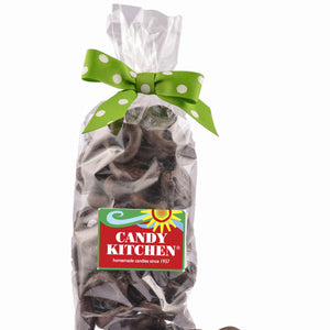 Holiday Dark Chocolate Mini Pretzels Gift Bag