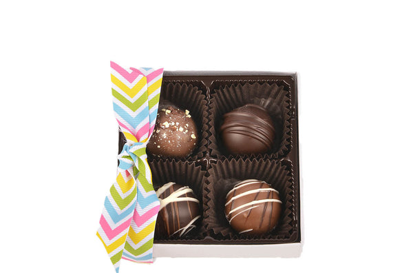 4 Piece Truffle Gift Box