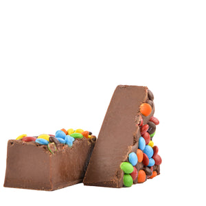 Chocolate M & M Fudge