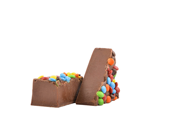 Chocolate M & M Fudge - 1 lb. box