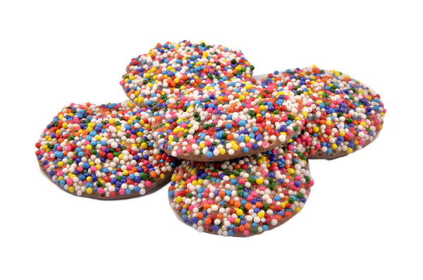 Milk Chocolate Rainbow Nonpareils