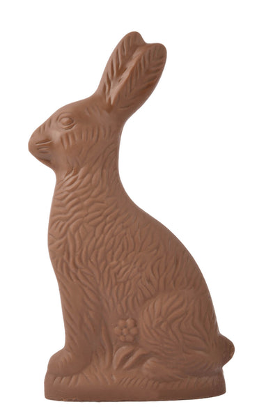 Solid Milk Chocolate Bunny Large