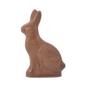 Solid Milk Chocolate Bunny - Medium
