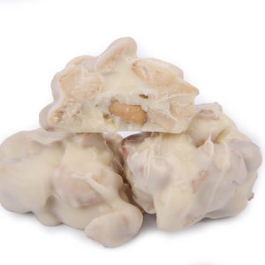 White Chocolate Cashew Clusters