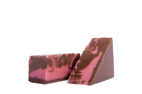 Chocolate Raspberry Fudge - 1 lb. box