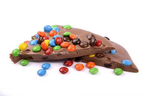 Milk Chocolate M&M Bark