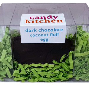 Dark Chocolate Coconut Fluff Easter Egg - 3 oz.