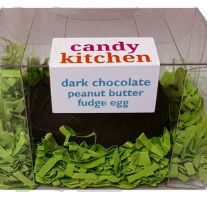 Dark Chocolate Peanut Butter Truffle Fudge Easter Egg - 3 oz.