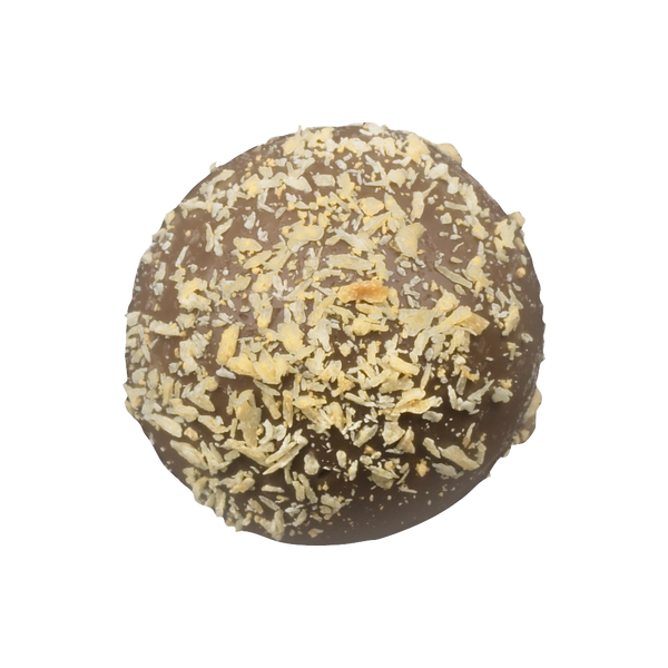 Milk Chocolate Toasted Coconut Truffle