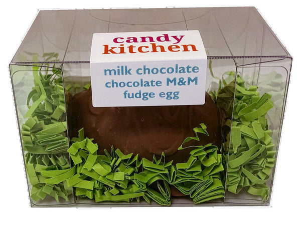 Milk Chocolate Chocolate M&M Fudge Easter Egg - 3 oz.