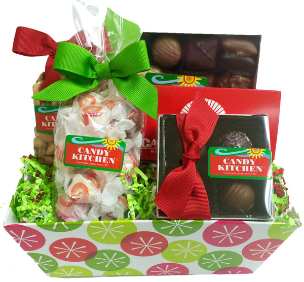 Christmas Dot Variety Gift Basket