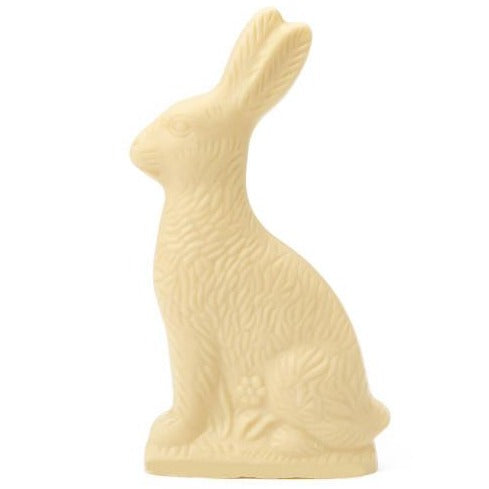 Solid White Chocolate Bunny - Small
