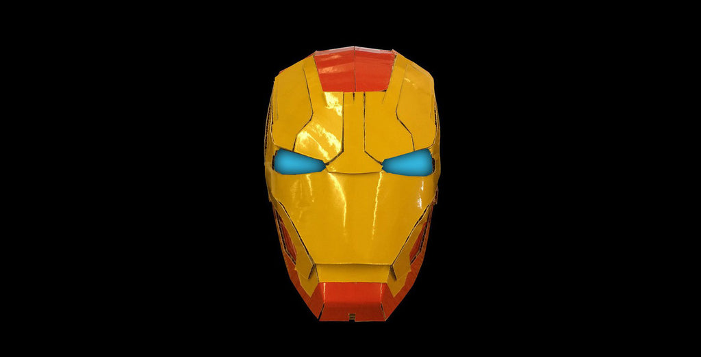 Iron Man Mask Colourised