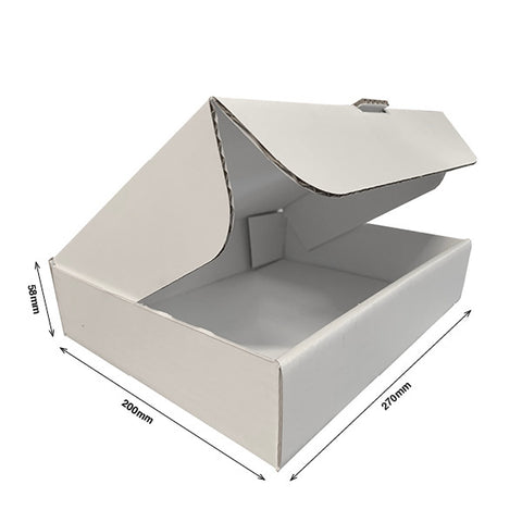Pizza Style Presentation Boxes INTERNAL 270Wx200Dx58H - Cardworks Ltd
