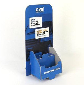 Business Card 2-Tier Dispenser - Cardworks Ltd