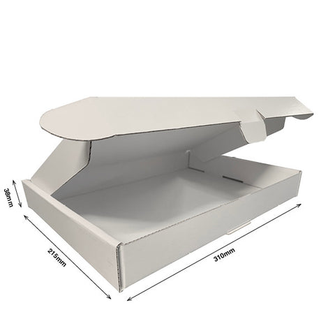 Pizza Style Presentation Boxes INTERNAL 310Lx215Dx38H - Cardworks Ltd