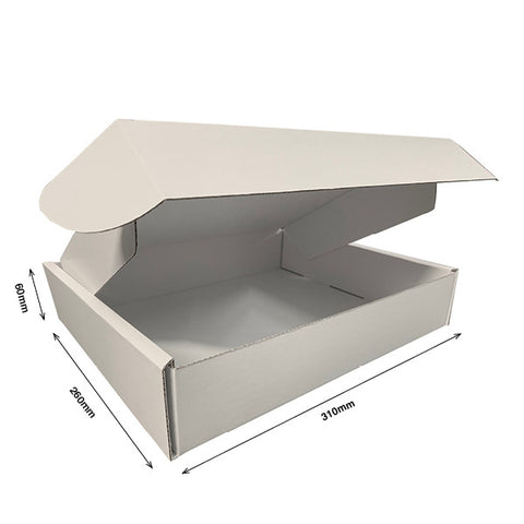 Pizza Style Presentation Boxes INTERNAL 310Wx260Dx60H - Cardworks Ltd