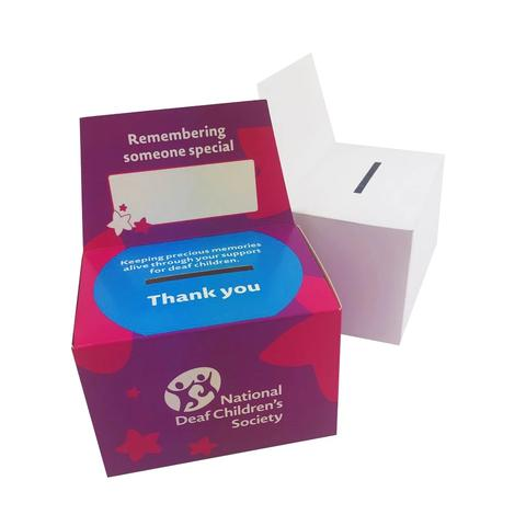 Charity & Collection Boxes - Cardworks Ltd