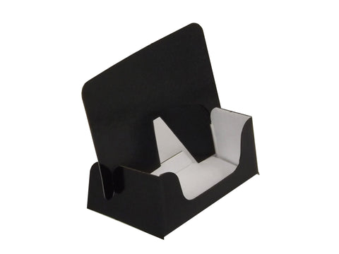 Mini Black Business Card Dispenser - Cardworks Ltd