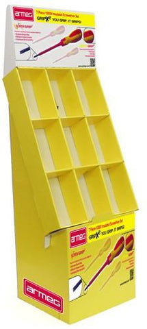 9-Bay DVD Tray FSDU - Cardworks Ltd